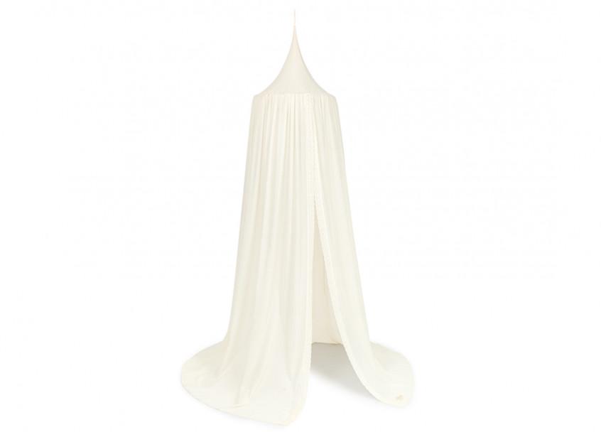 Vera Eyelet Lace canopy • natural