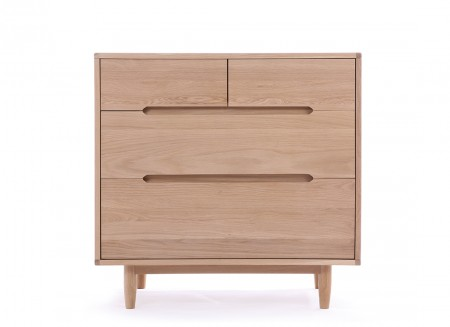 4 Drawer dresser - Pure 50x87x85