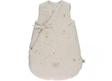 Cloud winter sleeping bag • gold stella natural