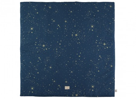 Colorado play mat 100x100 gold stella/ night blue