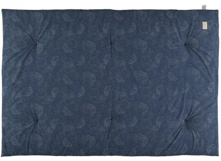 Eden futon 148x100x6 gold bubble/ night blue