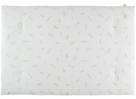 Eden futon 148x100x6 gold secrets/ white