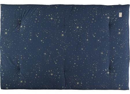 Eden futon 148x100x6 gold stella/ night blue