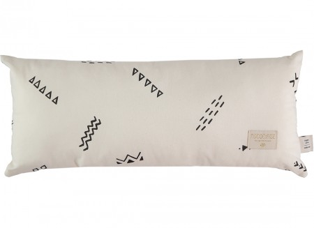 Hardy cushion 22x52 black secrets/ natural