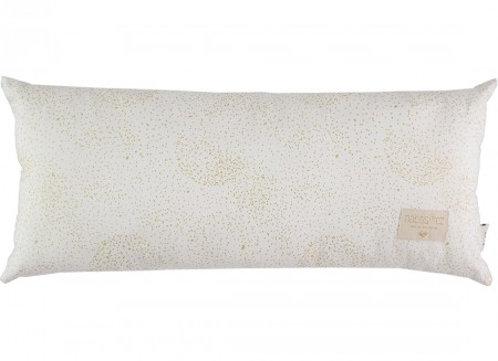 Hardy cushion • gold bubble white