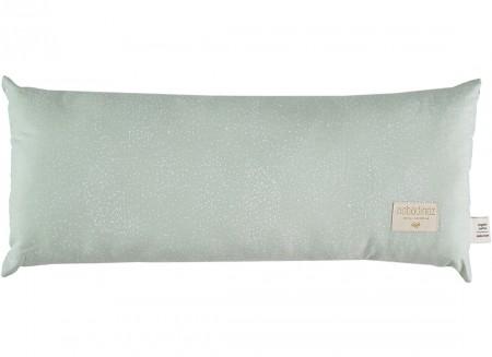 Hardy cushion • white bubble aqua