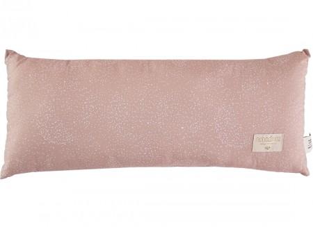 Hardy cushion • white bubble misty pink