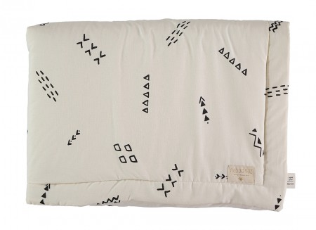 Laponia blanket black secrets/ natural - 2 sizes