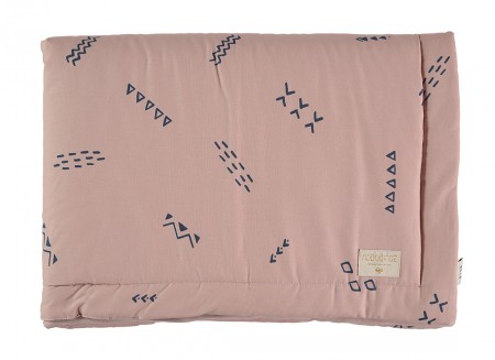 Laponia blanket blue secrets/ misty pink - 2 sizes
