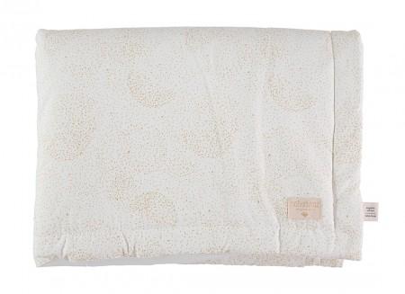 Laponia blanket gold bubble/ white - 2 sizes