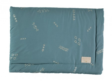 Laponia blanket gold secrets/ magic green - 2 sizes