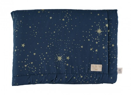 Laponia blanket • gold stella night blue