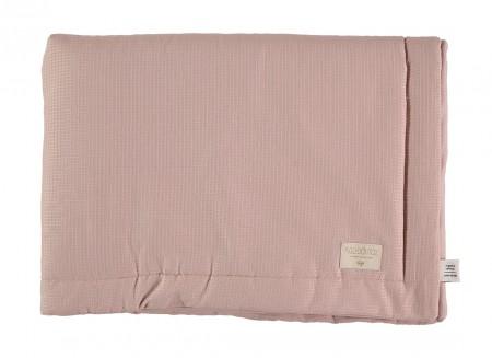 Laponia blanket honeycomb misty pink - 2 sizes