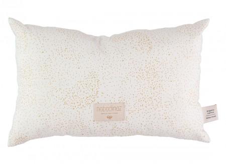 Laurel cushion 22x35 gold bubble/ white
