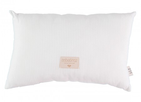 Laurel cushion honey comb 22x35 white