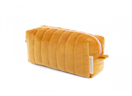 Savanna velvet Vanity Case farniente yellow