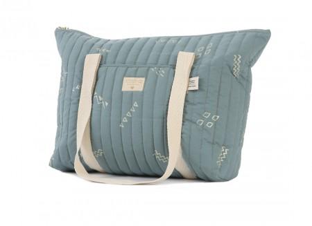 Paris maternity bag 34x50x12 gold secrets/ magic green