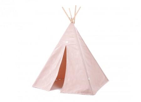 Phoenix teepee 149x100 white bubble/ misty pink