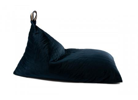 Essaouira kid beanbag • velvet night blue