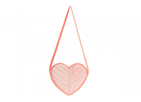 Love velvet mini bag bloom pink