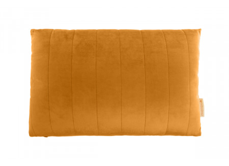 Akamba velvet cushion farniente yellow