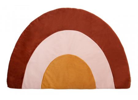 Rainbow velvet carpet wild brown