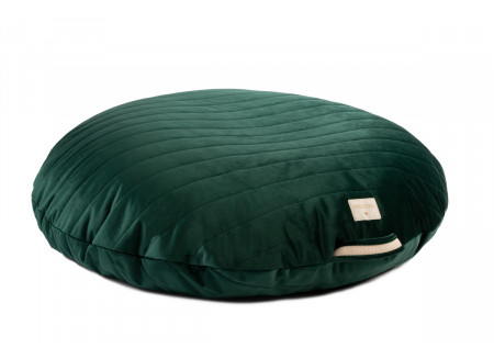 Sahara velvet beanbag jungle green