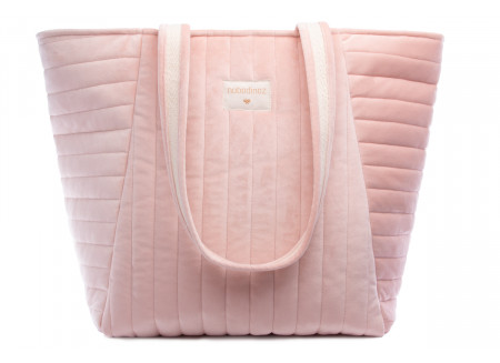 Savanna velvet bag • bloom pink