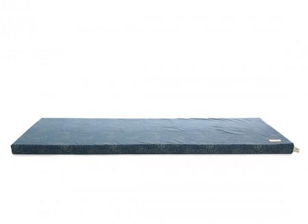 Saint Barth floor mattress 60X120X4 gold bubble/ night blue