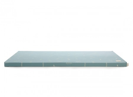 Saint Barth floor mattress 60X120X4 gold secrets/ magic green