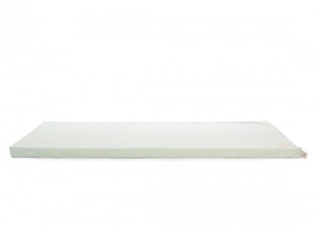 Saint Barth floor mattress 60X120X4 white bubble/ aqua