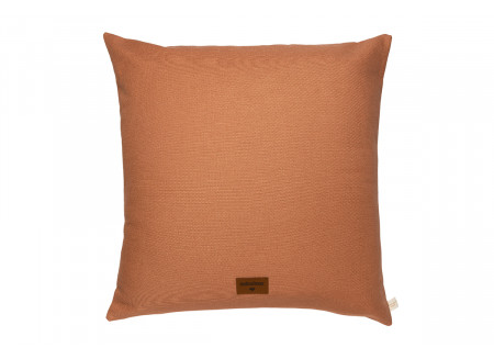 Aladdin cushion • sienna brown