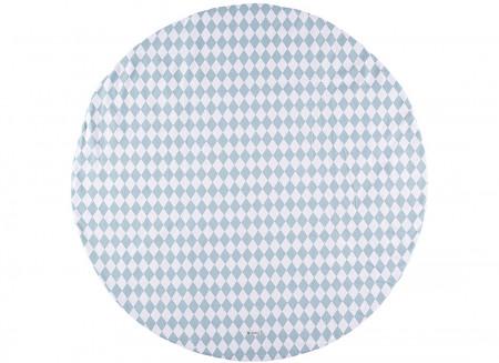 Carpet Apache blue diamonds – S