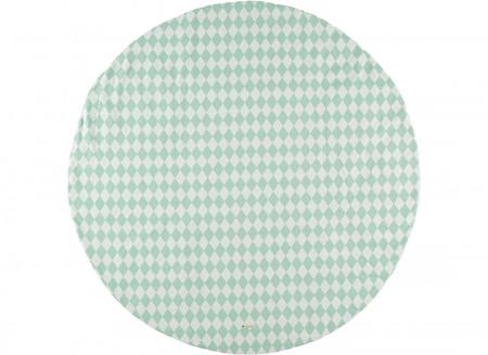 Carpet Apache green diamonds – S