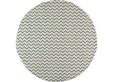 Carpet Apache zigzag blue – S