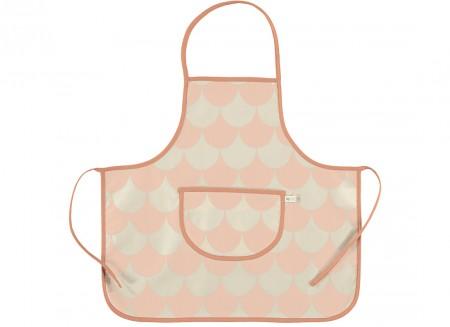 apron sicilia pink scales - 2 sizes