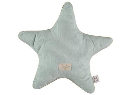 Aristote cushion 40x40 aqua