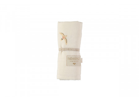 Baby Love swaddle nude haiku birds/ natural
