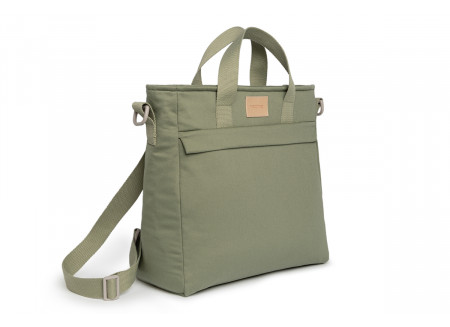 Baby on the go waterproof changing backpack • olive green
