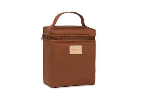 Baby on the go insulated baby bottle and lunch bag • clay brown