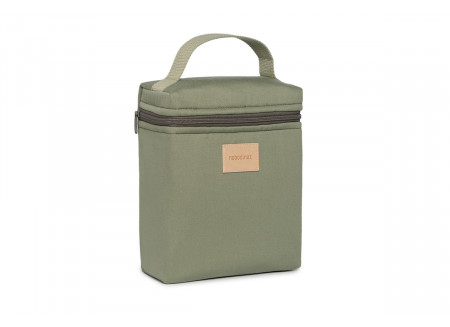 Baby on the go insulated baby bottle and lunch bag • olive green