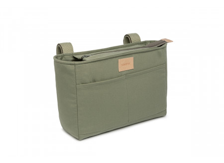 Baby on the go waterproof stroller organizer • olive green