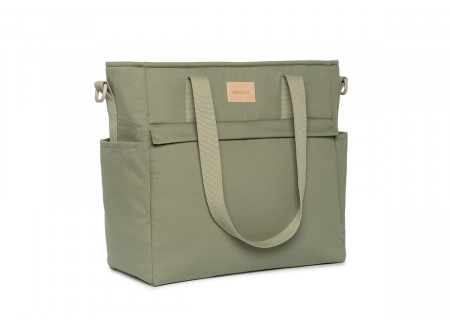 Baby on the go waterproof changing bag • olive green