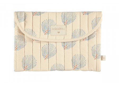Bagatelle pouch blue gatsby cream