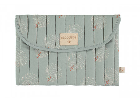 Bagatelle pouch white gatsby antique green
