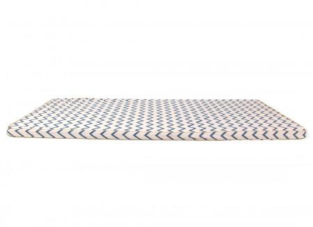 Saint Tropez play mattress • zig zag blue