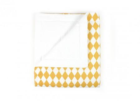 Blanket Copenhague honey diamonds – adult