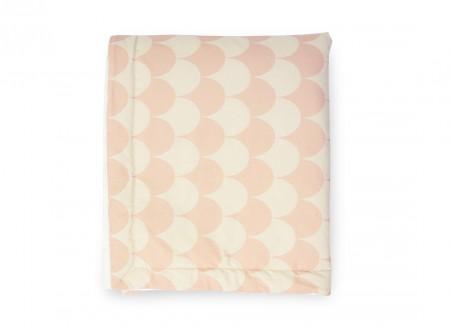 Blanket Copenhaguen pink scales - 2 sizes