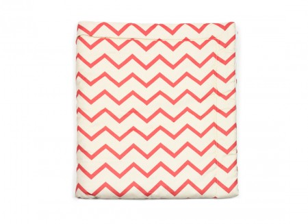 Copenhague blanket zig zag pink - 2 sizes