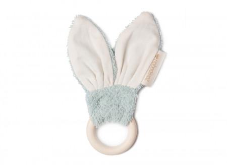 Bunny teether ring • green